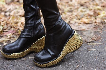 ایده برای پاشنه کفش