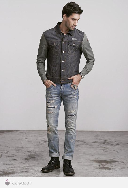 لباس جین مردانه