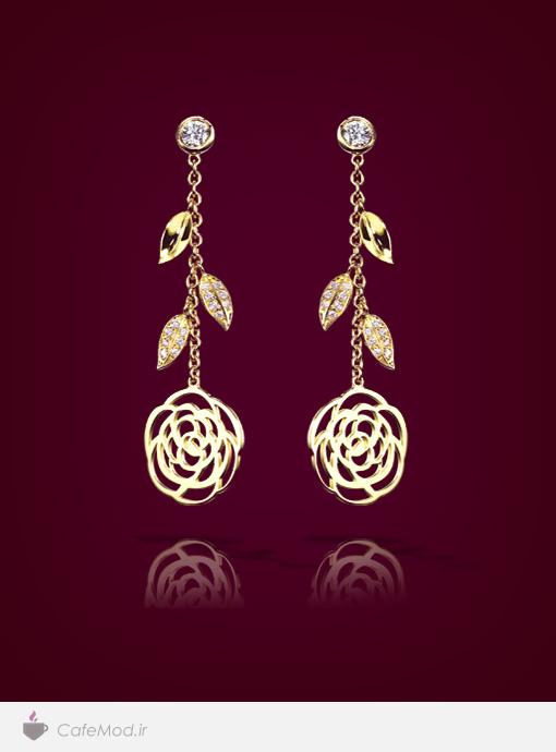 گوشواره جواهر Chanel