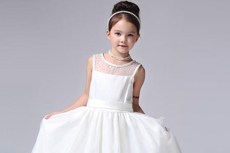 مدل لباس عروس دختربچه 10