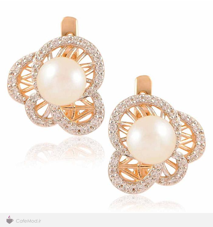 مدل گوشواره طلا و جواهر
