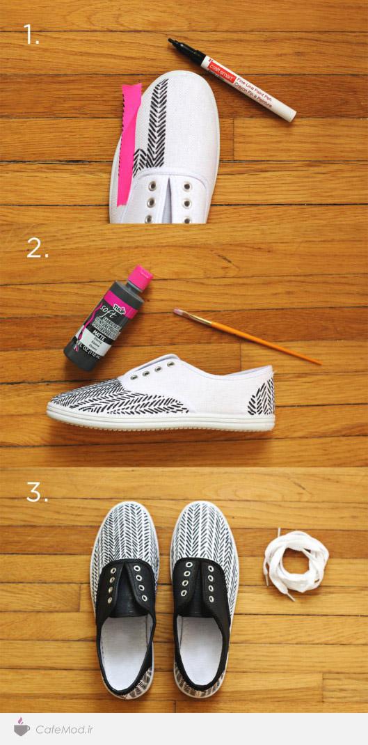 شخصی سازی کفش
