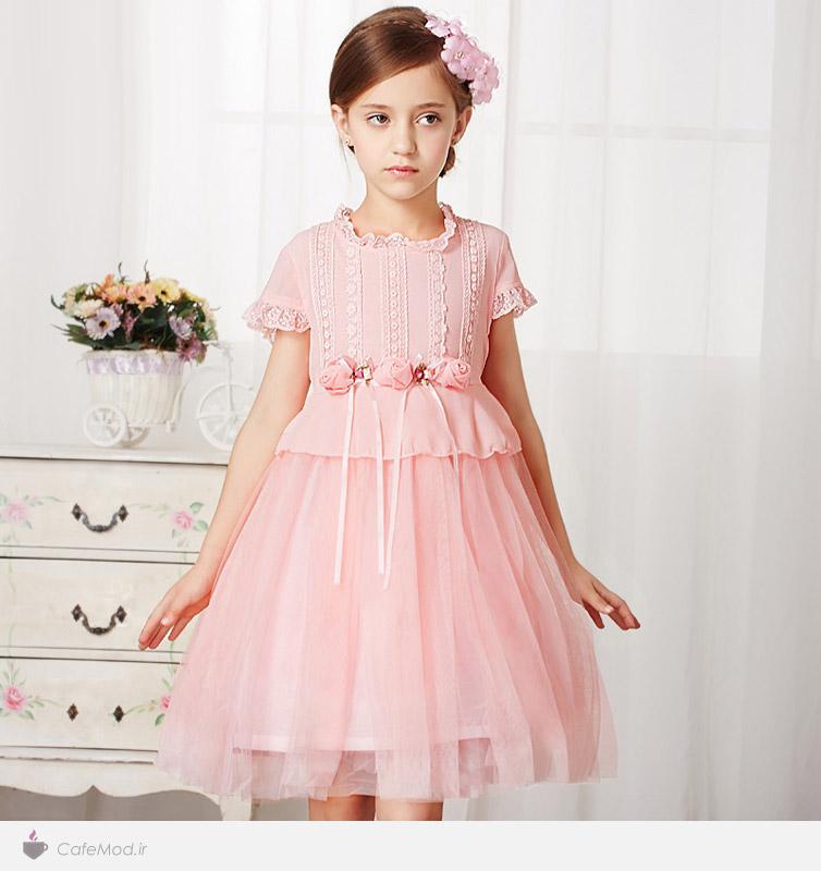 مدل لباس دخترانه Qirafa