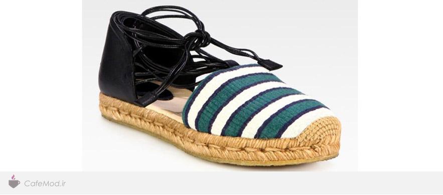 مدل کفش پارچه ای