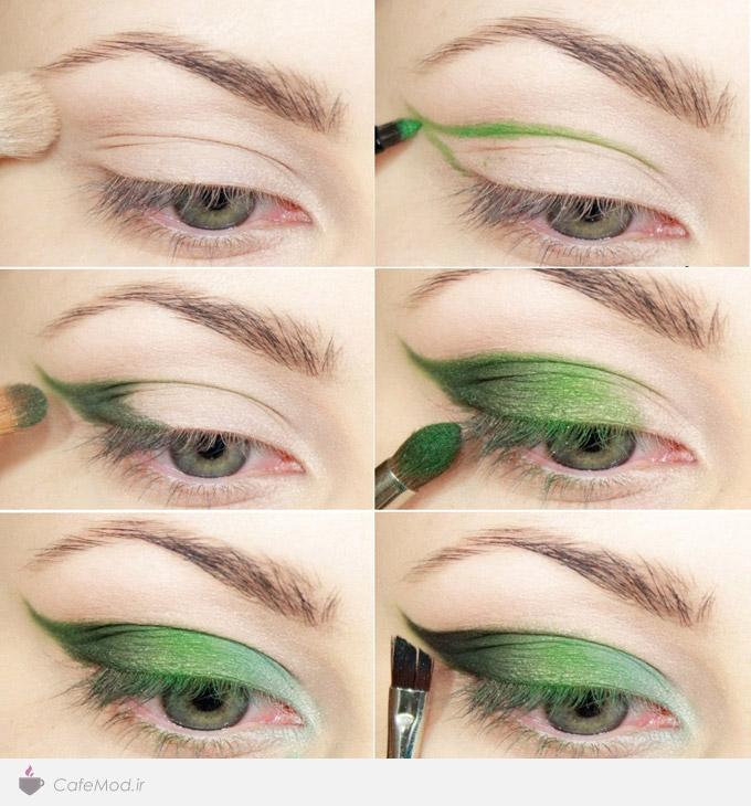 آموزش سایه چشم