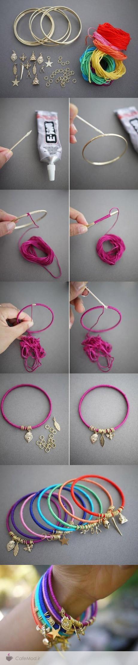 مراحل آموزش ساخت دستبند