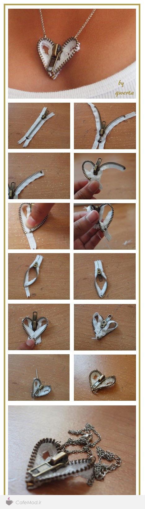 مراحل ساخت گردنبند
