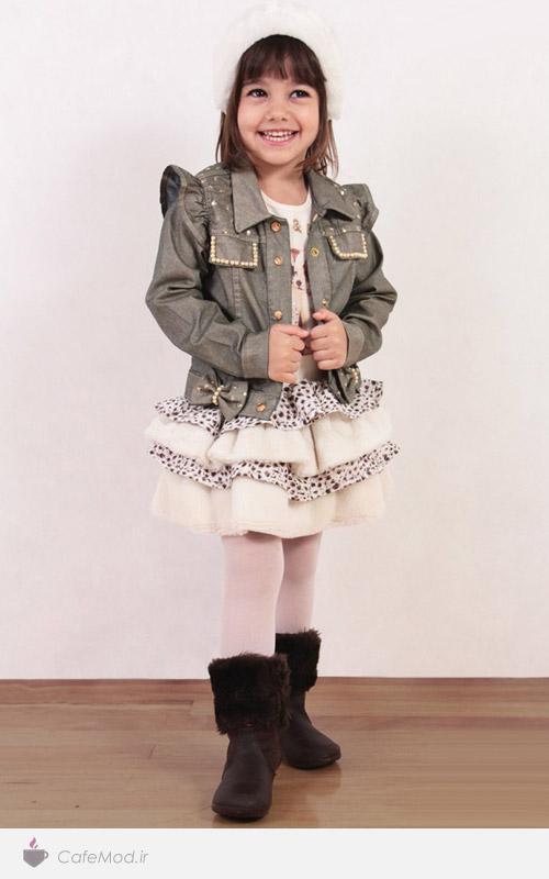 مدل لباس دخترانه بچه گانه