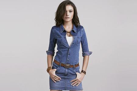 مدل لباس جين زنانه Wrangler 13