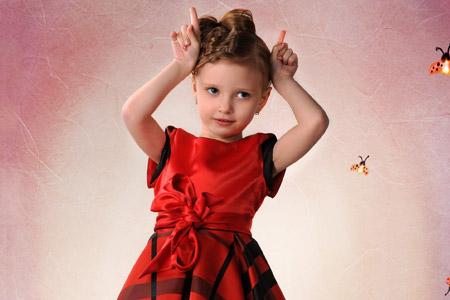 مدل لباس دخترانه Ella Savchuk 13