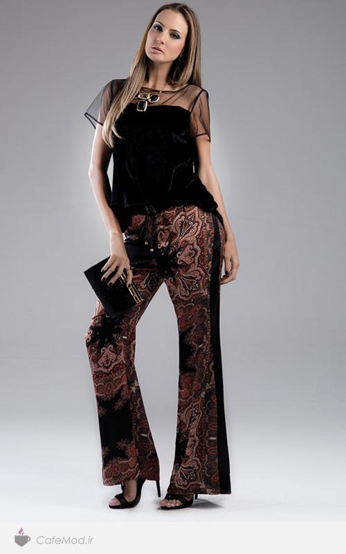 مدل بلوز و شلوار زنانه