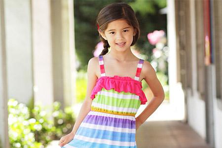 مدل لباس ماکسی دخترانه  13