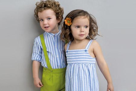 مدل لباس دخترانه و پسرانه  13
