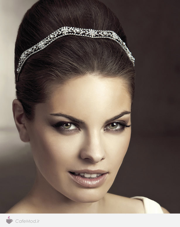 مدل گل سر عروس
