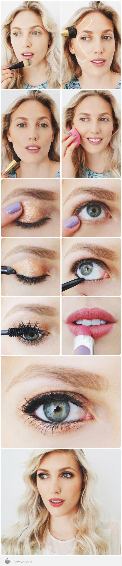 آموزش آرایش چهره