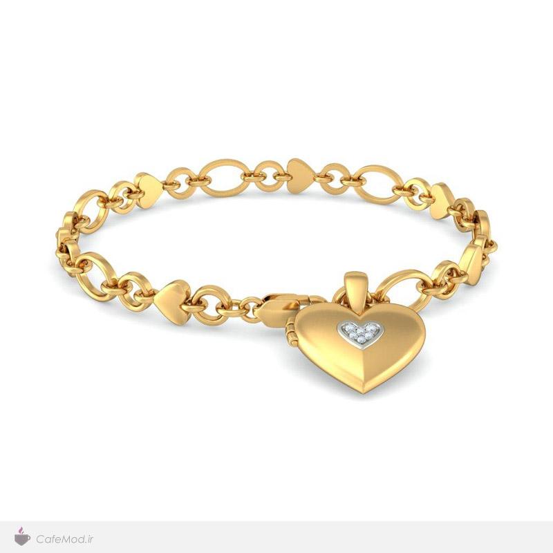 مدل دستبند قلبی