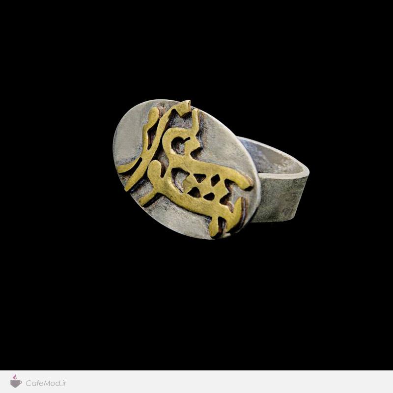 مدل انگشتر دست ساز ایرانی