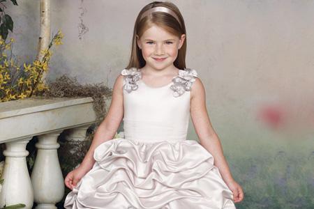 لباس عروس براي دختر بچه ها  16