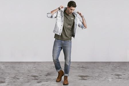 لباس جين مردانه Wrangler 16