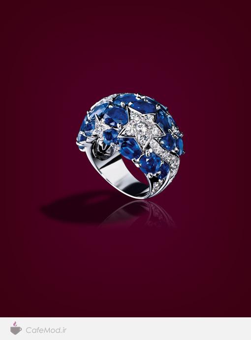 انگشتر جواهر Chanel