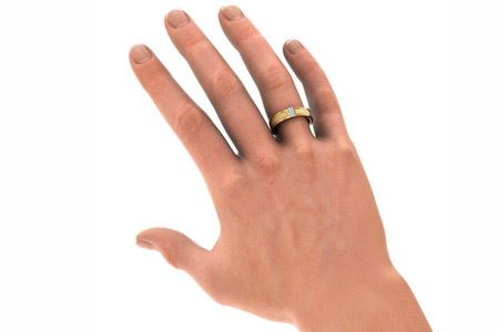 مدل حلقه مردانه