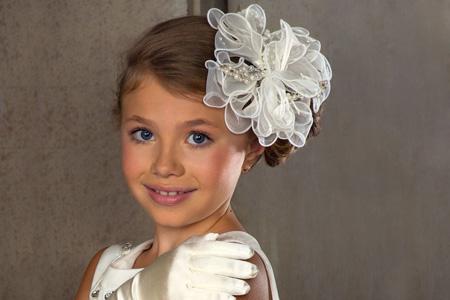 مدل گل سر و مدل موي دختران  16
