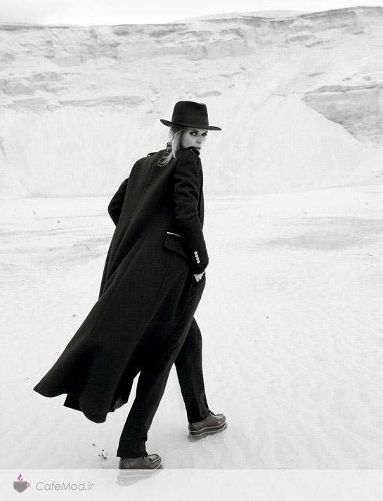 عکاسی زمستانه در مد