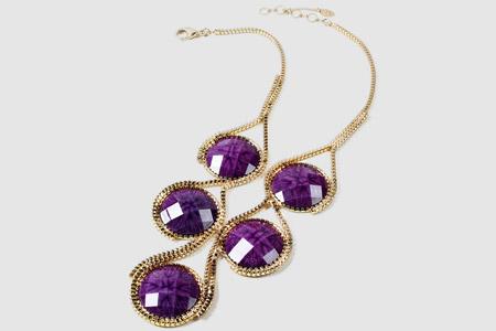مدل جواهرات و زیورآلات بنفش