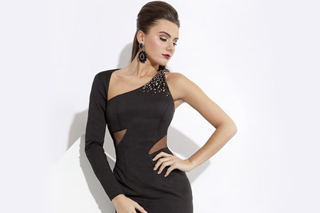 مدل لباس مجلسی کوتاه زنانه 31