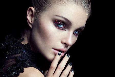 مدل آرایش چهره 16