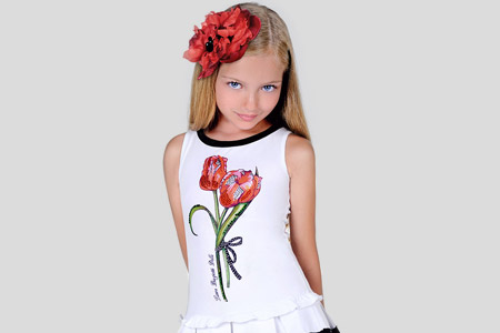 مدل لباس دخترانه Laura Biagiotti 16