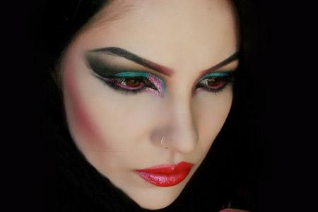 مدل آرایش صورت 2014 16