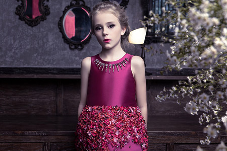 مدل لباس دخترانه Mischka Aoki 16
