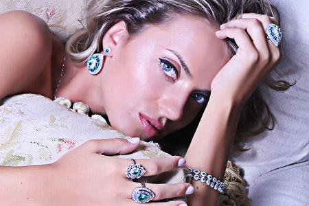 مدل جواهرات سنگ