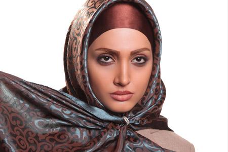 مدل شال و روسری ایرانی  19