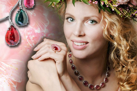 مدل زیورآلات مدل جواهرات