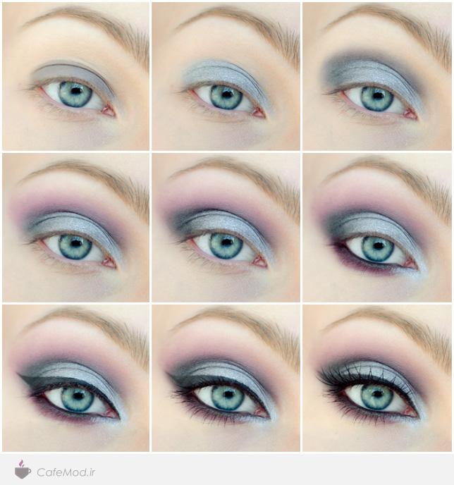 آموزش آرایش زیبای چشم