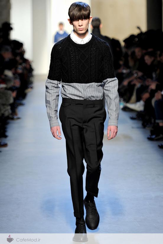 لباس مردانه پاییز/زمستان 2014-2013  KRIS VAN ASSCHE