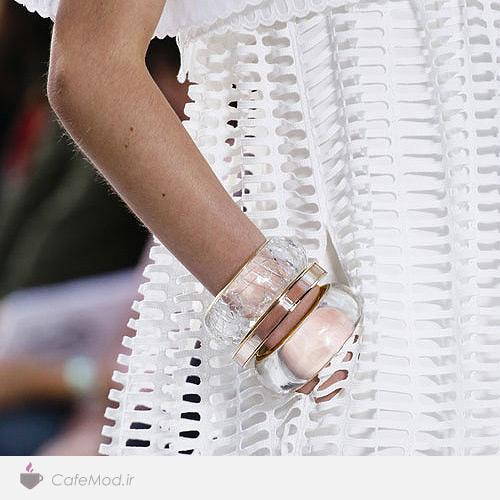 دستبند آبی با Chloé