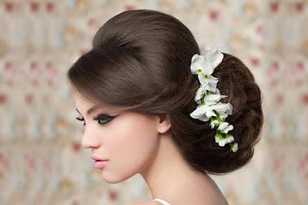 مدل مو عروس 8