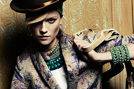 جواهرات با رنگ های عامیانه 1