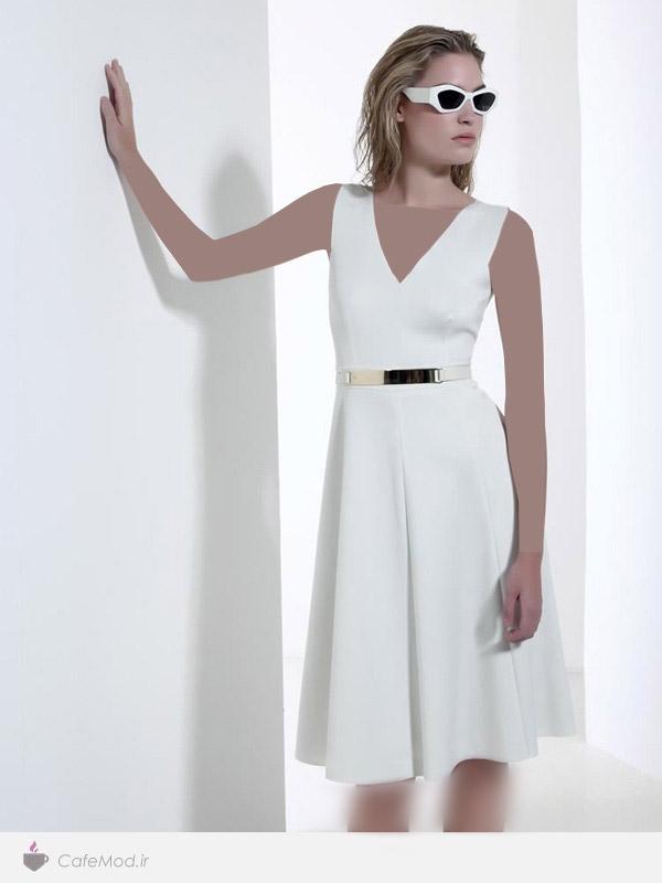 مدل لباس زنانه کوتاه مجلسی