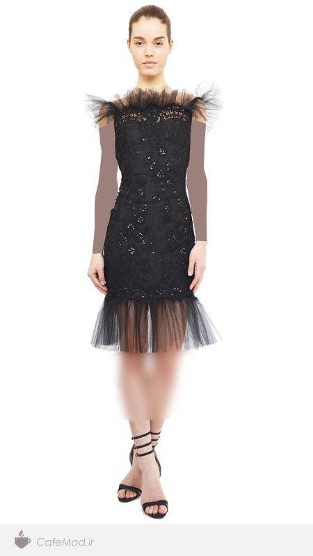 مدل لباس مجلسی Marchesa