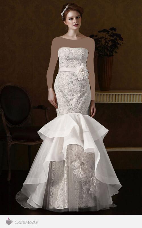 مدل لباس عروسی