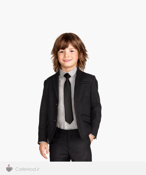 مدل کت و جلیقه پسرانه H&M