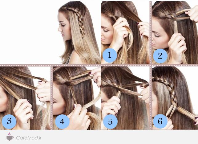 آموزش بافت موی یک طرفه