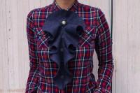 تزئین جلوی پیراهن زنانه