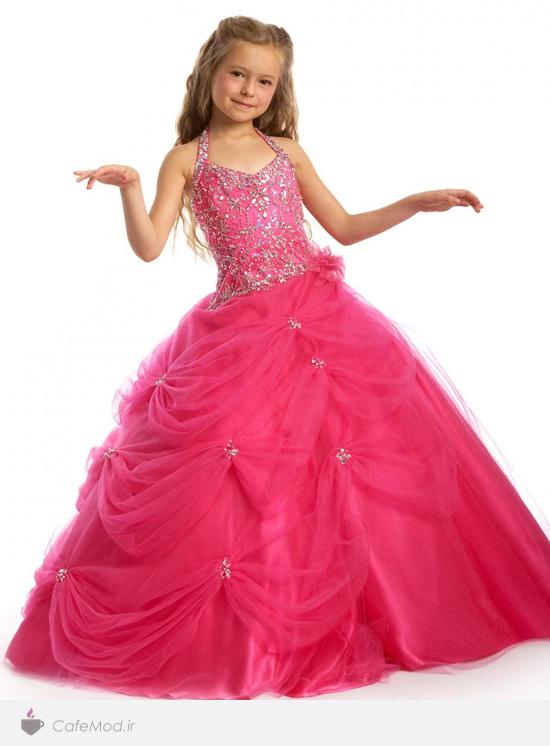 مدل لباس پفی دخترانه