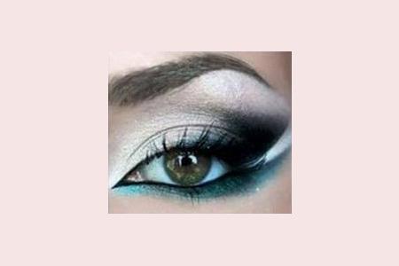 آموزش گام به گام آرایش چشم 1