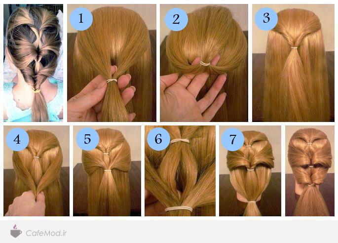 آموزش بافت موی طبقه ای
